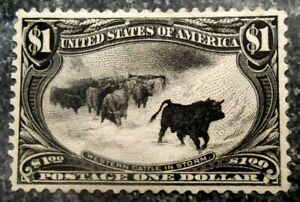 Buffalo Stamps: Scott #292 Trans-Mississippi, Mint NH/OG & VF/XF, CV = $5,400
