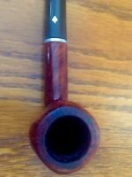 Vintage Dr. Grabow Deluxe Imported Briar Tobacco Smoking Pipe Straight Stem