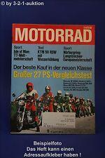 Motorrad 13/77 Herkules W 2000 Morini Maico Bultaco KTM