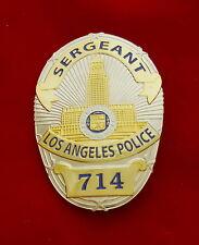 LAPD Sergeant Police Badge