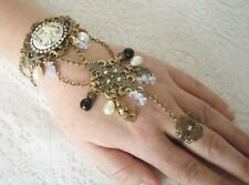 Mermaid Slave Bracelet, boho bohemian hippie gypsy hipster hand chain fantasy