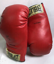 Everlast Red Boxing Gloves Size 12 - Used Condition A17