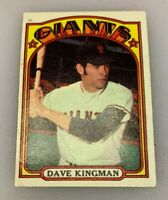 1972 Topps Baseball Card Dave Kingman # 147