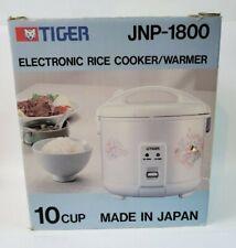 TIGER RICE COOKER JNP-1800 10 cup  black garlic Floral White