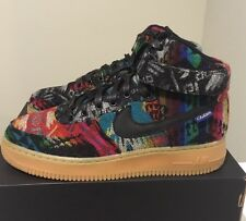 """NEW MEN'S NIKE PREMIUM AIR FORCE 1 HIGH """"WHAT THE PENDLETON"""" SIZE 8 991187 - 991"""