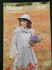 Vintage Mistique Fashion Hand Knits  Emu Knitting Patterns Book