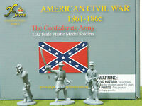1/32 SCALE /54MM AMERICAN CIVIL WAR CONFEDERATE ARMY SET BY EXPEDITIONARY  FORCE