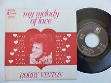 BOBBY VINTON My melody of love 2C004 95875  Pressage France  RRR