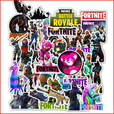 50pcs Fortnite Stickers for Car Skateboard Laptop Luggage Suitcase Sticker Bag