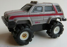 LOOSE McDonald's 1986 Stomper Mini 4x4 TOYOTA TERCEL GREY SR5 Schaper OFF ROAD