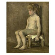 Van Gogh Painting Portrait Of A Girl
