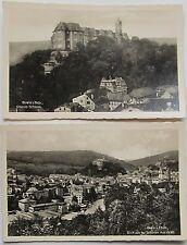 Ansichtskarten aus Thüringen mit dem Thema Burg & Schloss