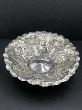 More details for decorative silver dish by mappin & webb sheffield 1897