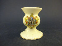 Arcadian China Model of a Thistle Vase with Wimbledon Crest