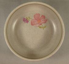 "Lenox Summer Wind 5"" Fruit Dessert Sauce Bowl Pink Purple Flowers Floral USA"