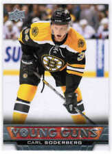 13/14 UD SERIES 1&2 HOCKEY YOUNG GUNS ROOKIE RC CARDS (201-500) U-Pick From List