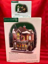 Department 56 Christmas In The City Molly O'Brien'S Irish Pub & Serving Ale Euc
