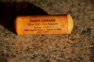 TOM'S GARAGE - BAKELITE SEWING KIT - AKRON, OH - Phone UN 5115