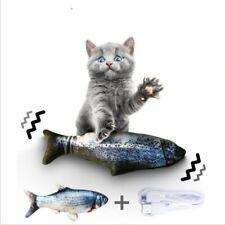 Jouet pour chat 30cm poisson en mouvement usb Rechargeable