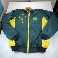 Australia Wallabies Rugby Union Jacket Men's 4XL Windbreaker Rugby