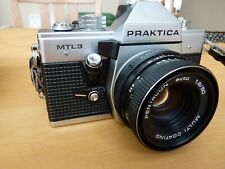Praktica MTL 3 Film Camera  Pentacon 50mm f/1.8 lens