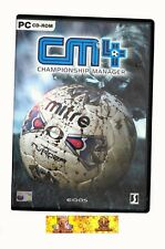 CM4 Championship Manager 4 PC Game Sports Football Soccer Strategy