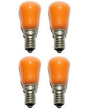 Crompton Screw Lamp Bulb Pygmy Light 15W Amber SES/E14 30 Lumens Pack of 4