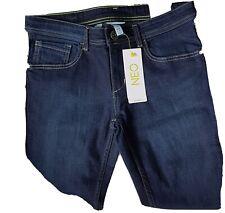 Neo Blue  Skinny jeans By ADIDAS W 28 L 34