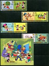 Lesotho 381-389, MNH, Disney characters 1982. x8014