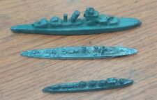 3x Pre-war Metal Warships 1x Dinky 1x Lead + 1 other