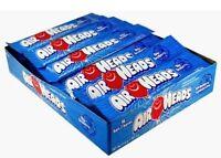 Airheads Blue Raspberry 36 Count Candy Bulk Taffy Chewy Air Head Fruity Candies