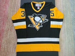 Pittsburgh Penguins 1990 Black Away Jersey - Tom Barrasso