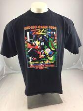Vintage 1998 The Big Game Denver Green Bay RIO vegas XL puffy graphic tshirt