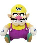 "Sanei Super Mario All Star Collection 10"" Wario Soft Stuffed Plush Toy"