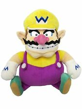 """Japanese Sanei Super Mario All Star Collection 10"""" Wario Soft Stuffed Plush Toy"""