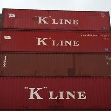 40ft Shipping Storage Container Conex Box / LONG BEACH, CA