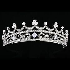 Bridal Headpiece Rhinestone Crystal Pageant Prom Wedding Tiara V853