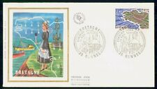 Mayfairstamps France FDC 1977 Bretagne Woman By Water Ships First Day Cover wwm_