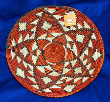 """Southwestern Basket Finely Handwoven Collectible Decorative 14x2.75"""" NEW #63"""