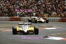 Rene Arnoux Renault RE30B Winner French Grand Prix 1982 Photograph 2
