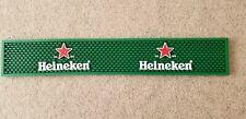 Heineken Beer Rubber Bar Mats-Set of 2