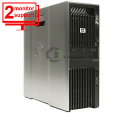 HP Z600 Media Workstation 8 Octo Core 2x E5520 24GB 1TB Quadro 4000 Win10Pro