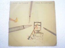 THE BEATLES PAUL MCCARTNEY PIPES OF PEACE PARLOPHONE PIC LABEL LP INDIA 248 VG+