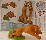 """""""Ice Age 3"""" 2009 Diego mit BPZ Deutsch """"Kinder Joy"""""""