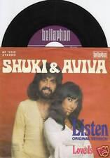 SHUKI & AVIVA Listen 45/GER/PIC