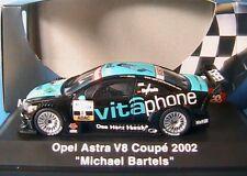 OPEL ASTRA V8 COUPE #15 VITAPHONE MICHAEL BARELS DTM 2002 SCHUCO 04804 1/43