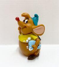 "New listing Gus The Fat Mouse w/ Soap Cinderella 2.5"" Pvc Figure Disney Bath Toy"