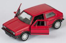 BLITZ VERSAND VW GOLF 1 GTI rot / red Welly Modell Auto 1:34 NEU & OVP