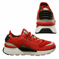 Puma RS-0 Sound Red Lace Up Slip On Running Shoes Mens Trainers 366890 03 B98D