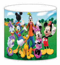 Mickey Mouse Club Childrens Lampshades Ceiling Light Table Lamp Bedding Curtains